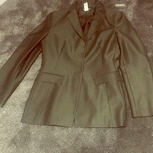 Lovely Jones New York olive jacket